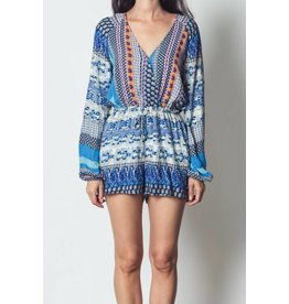 Totally Printed Romper