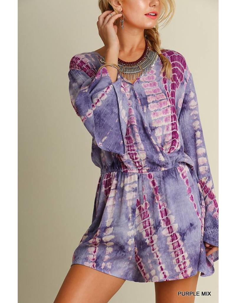 Take A Picture Tie Dye Romper