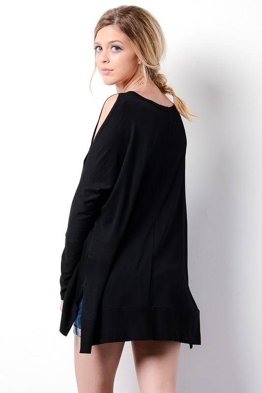 Cassie Cold Shoulder Top