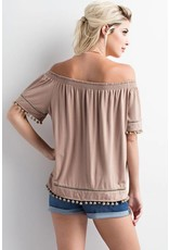 Give Me The Shoulder Top