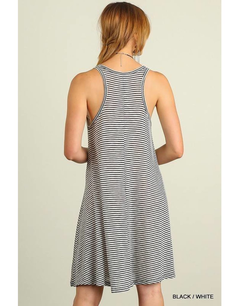 Striped About Dress