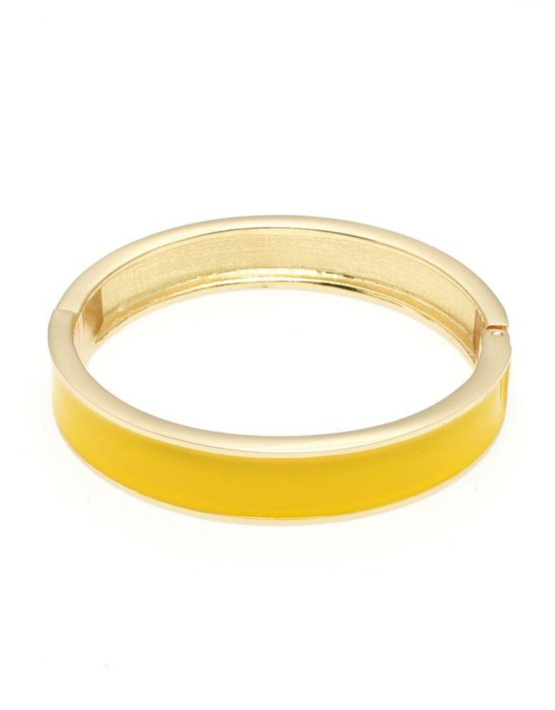 Zenzii Color Me Happy Bangle Yellow