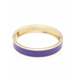 Zenzii Color Me Happy Bangle Purple