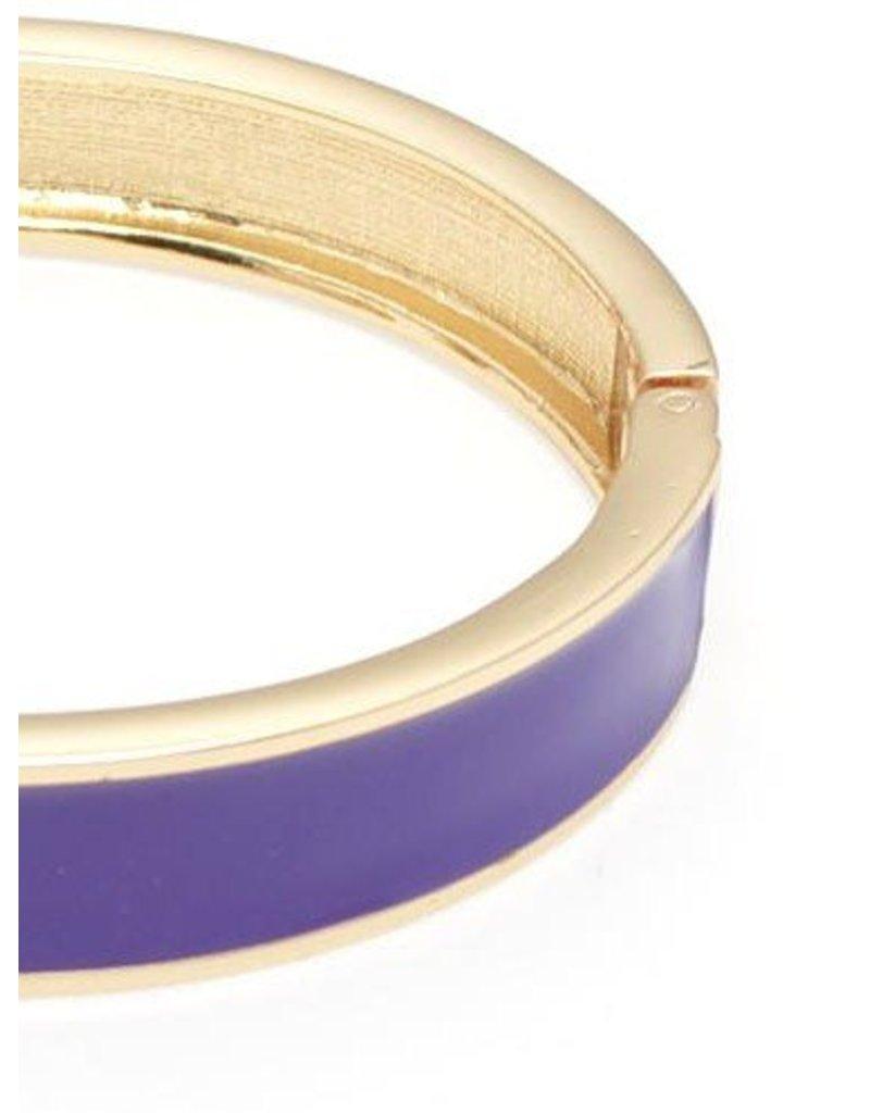 Zenzii Color Me Happy Bangle Purple