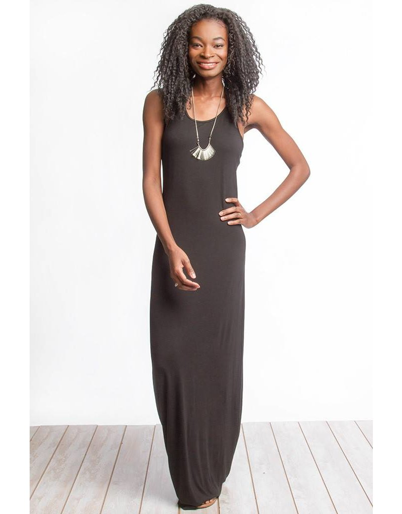 Twisted Up Maxi Dress