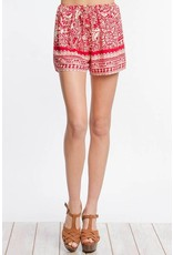 Love Affair Print Shorts