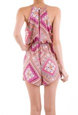 You-tiful Print Romper