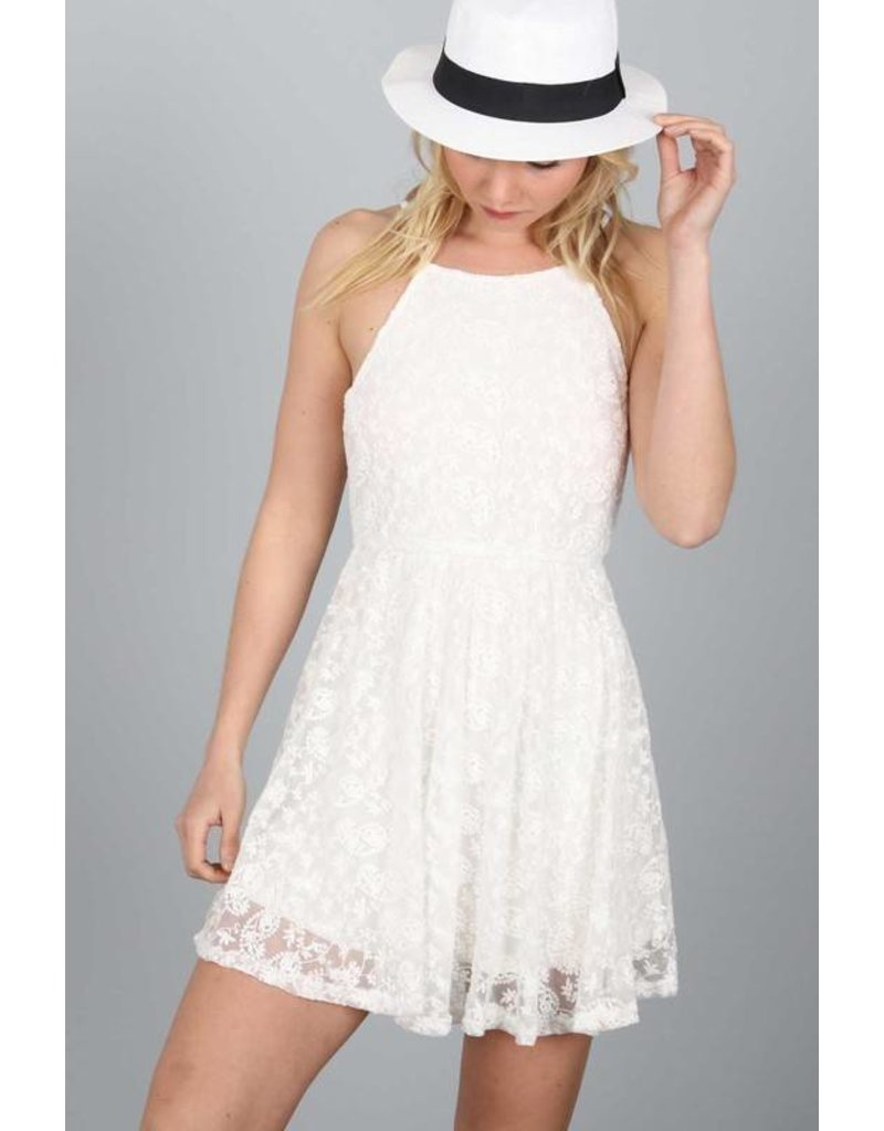 Making Moves Lace Dress