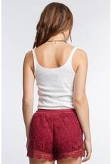 Summer Days Crochet Shorts