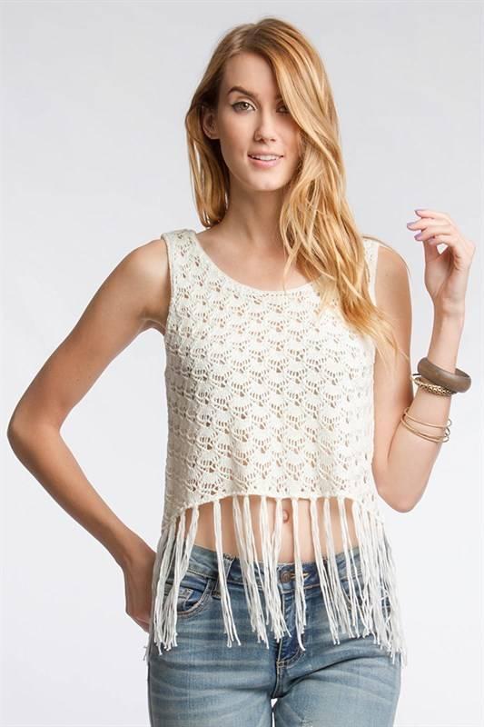 Crochet Me Not Crop Top