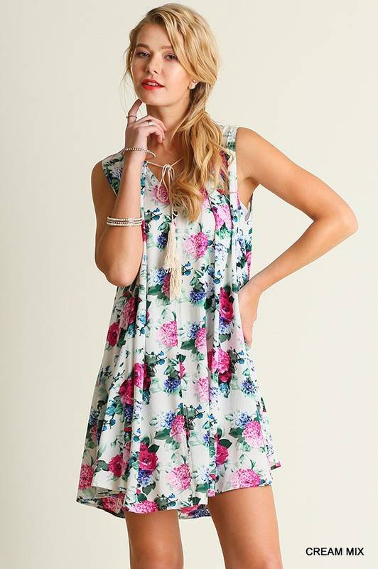Floral Coast Dress