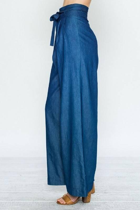 Hannah's Chambray Pants