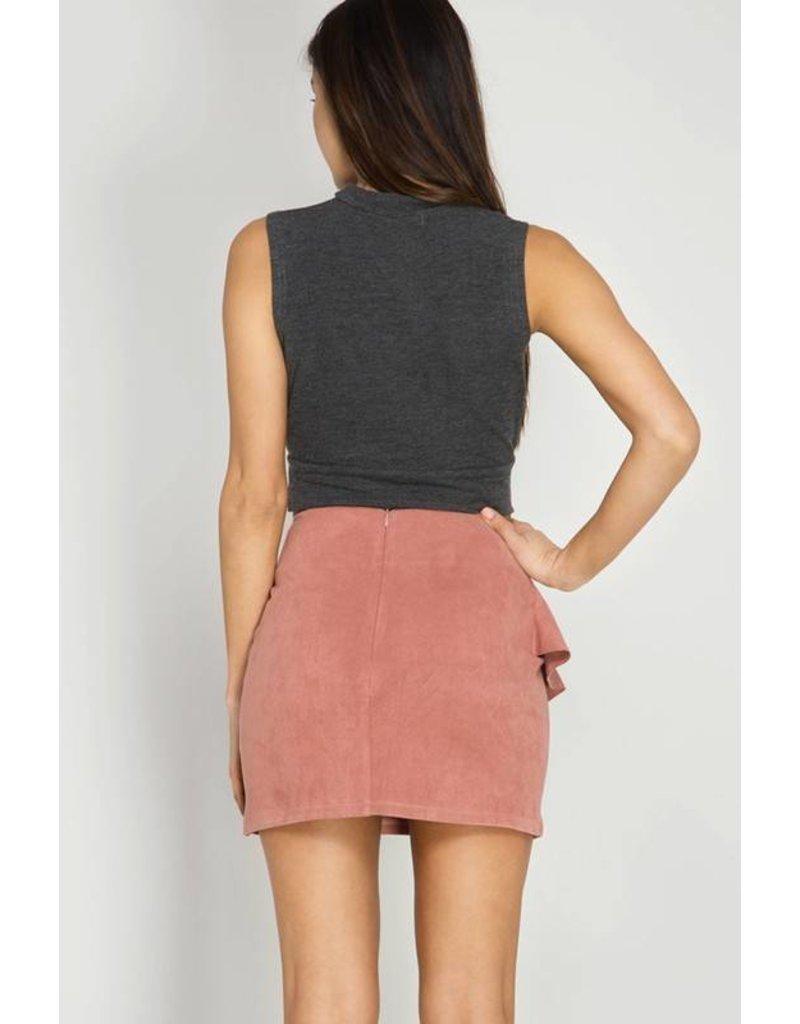 Sweet Ruffles And Truffle Skirt