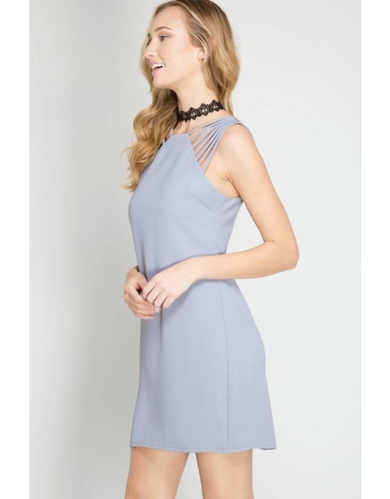 The Start Spaghetti Straps Dress