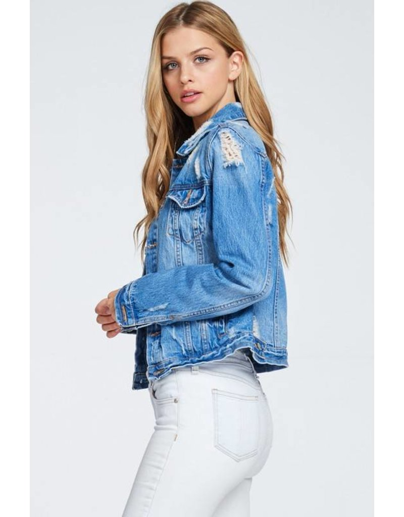 Dana Distressed Jacket
