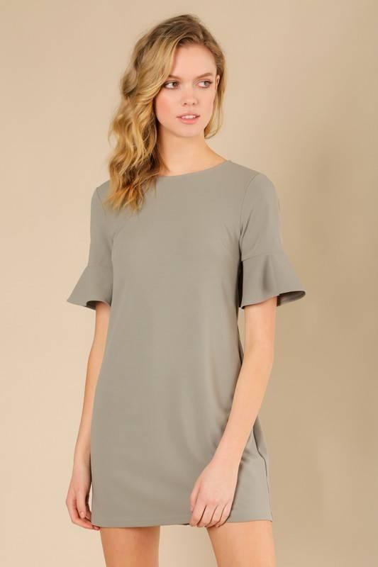 Olivia Ruffle Dress