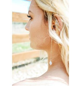 Shira Melody Mesa Drop Earring