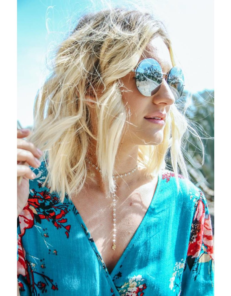 Shira Melody Gypsetter Necklace-Cactus