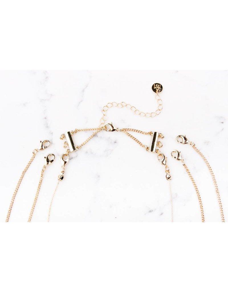 Shira Melody Sahara Layering Necklace