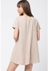 Darkest of Days Distressed T-Shirt Dress