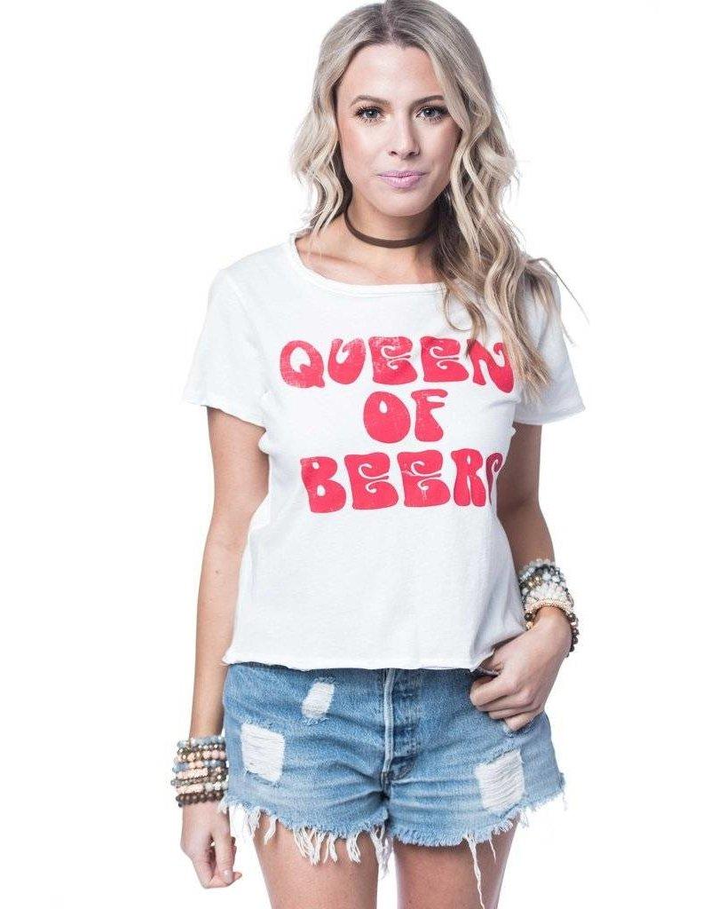 BuddyLove Queen Of Beers Tee