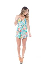 Izzy & Lola Pebble Beach Iris Romper
