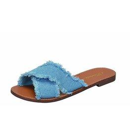 Java Denim Sandals