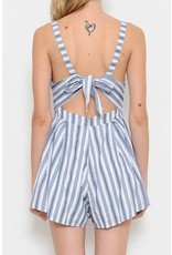 New Me Striped Romper