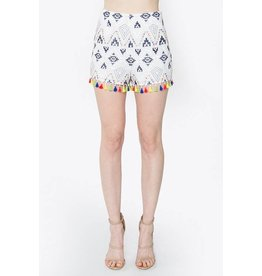 Hailey Tassel Set Shorts