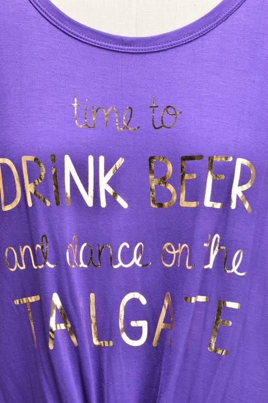 Dance on the Tailgate Tee