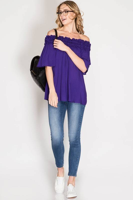 Flirty Game Day Top