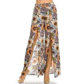 Summertime Floral Pants