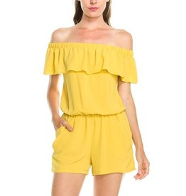 Off the Wall Romper