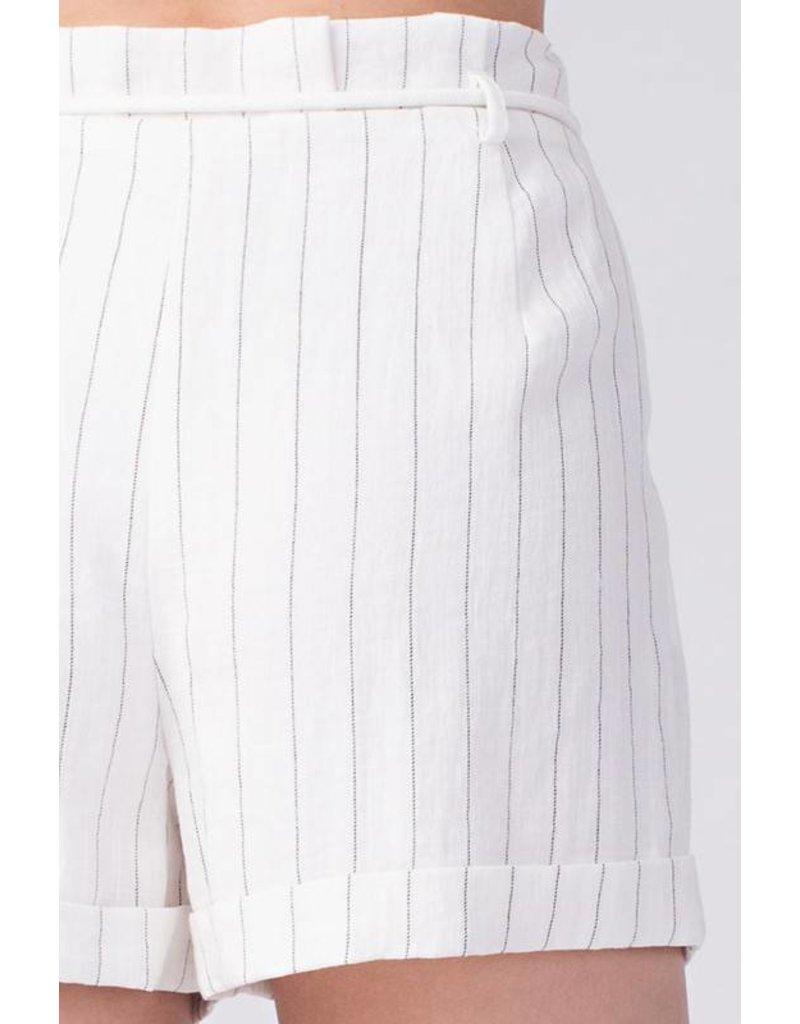 Prim Stripe Shorts