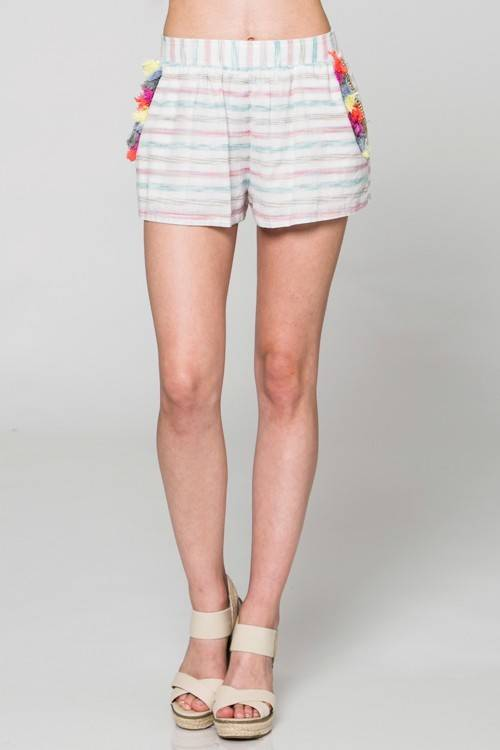 Into You Tassel Shorts