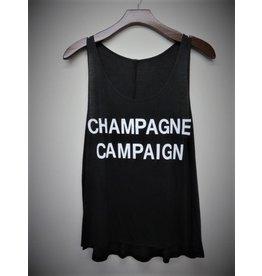 Champagne Campaign Tank