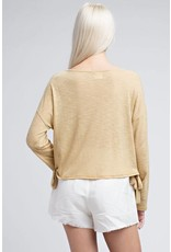 Cover Me In Honey Long Sleeve Top