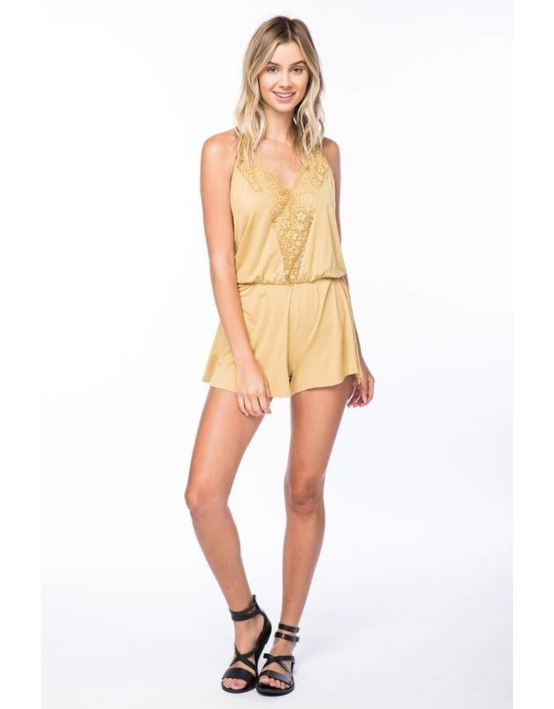 Lace Up For Game Day Romper