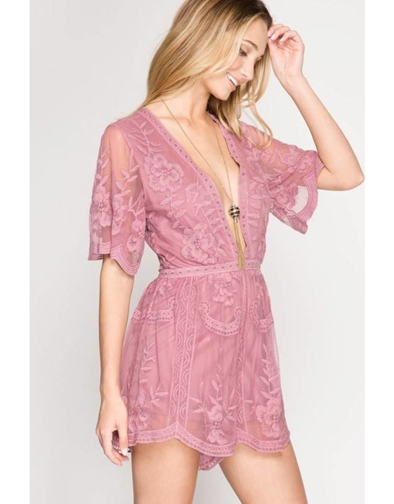 There She Goes Romper