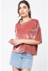 Love Somebody Velvet Top