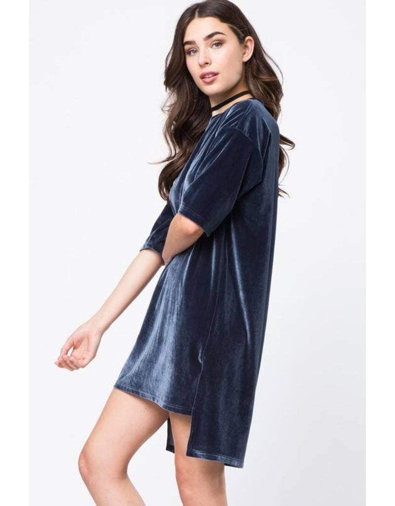 Beyond the Ages Velvet Dress