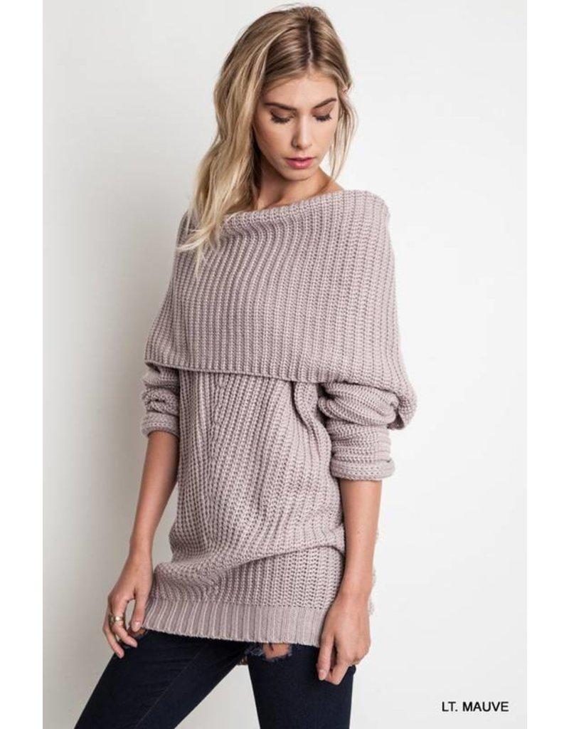 Olivia Off Shoulder Sweater
