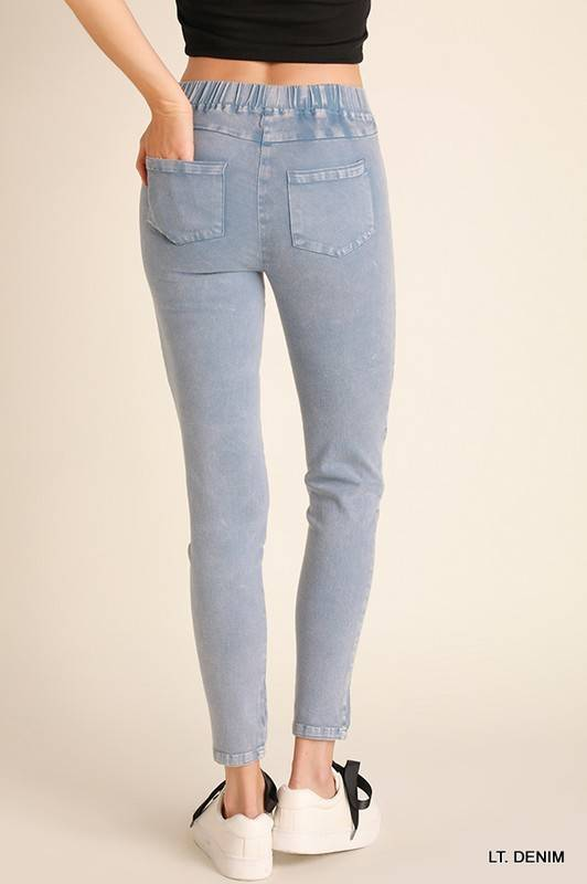 Meredith Moto Jeggings