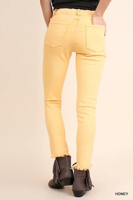 Kickoff Frayed Jeans