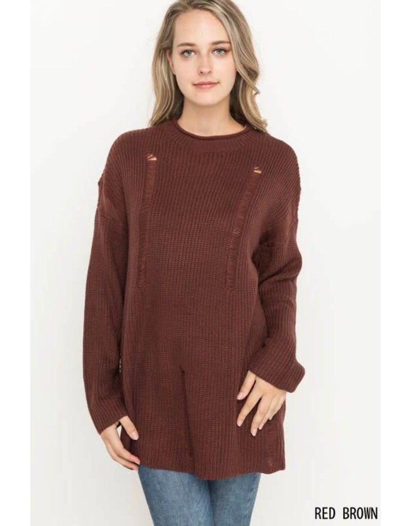 Made Me Do Sweater