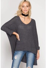 Hard to Love Light Sweater Top