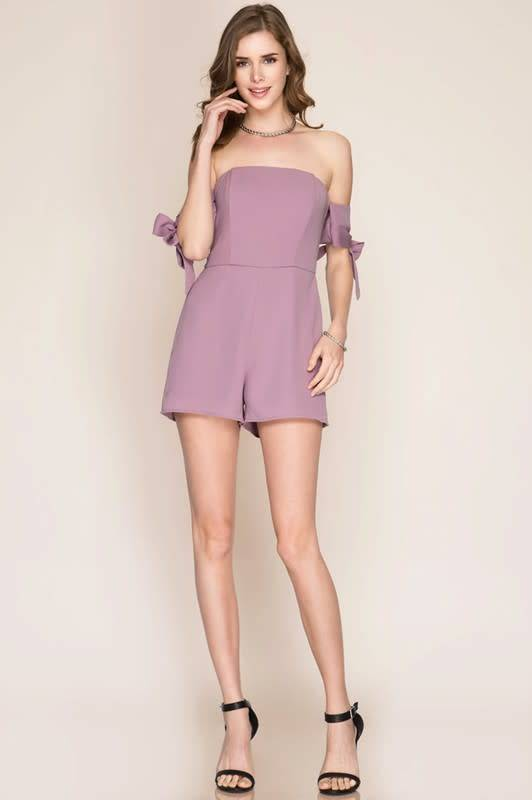 Silence in the Air Romper