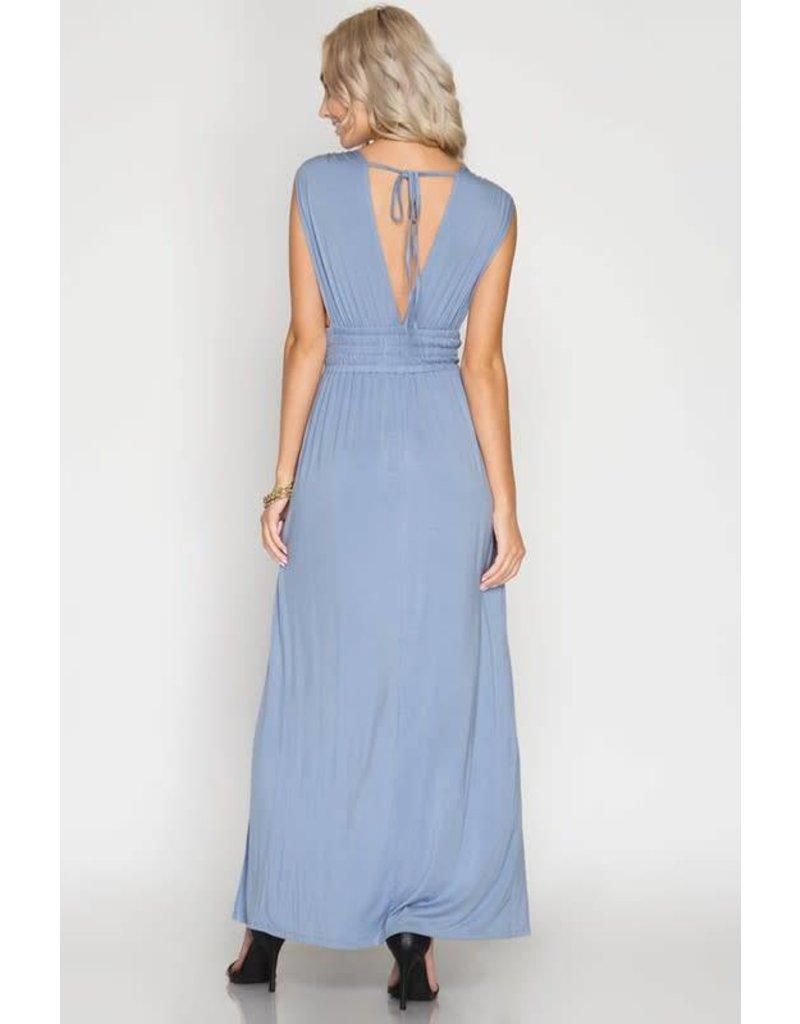 Dip it Low Maxi Dress