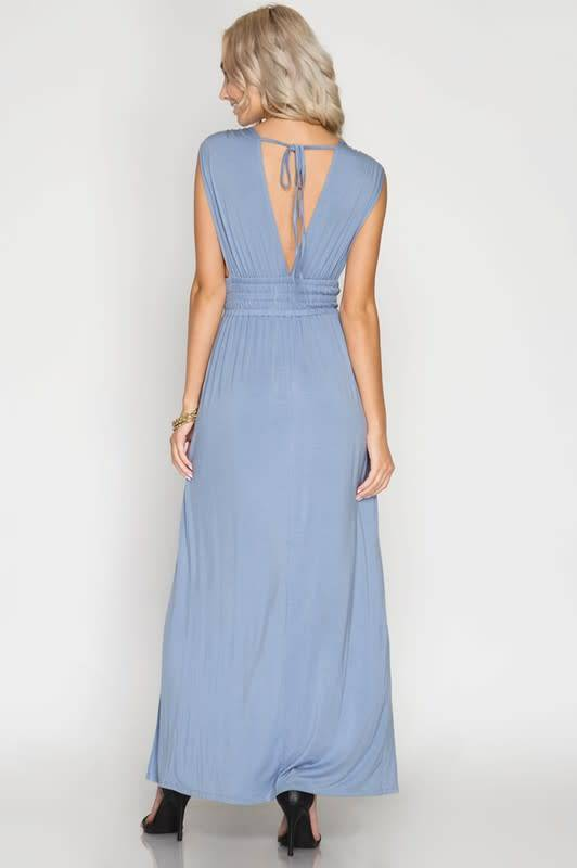 Dip it Low Maxi Dress