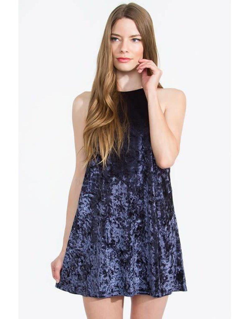 Crushing Velvet Dress